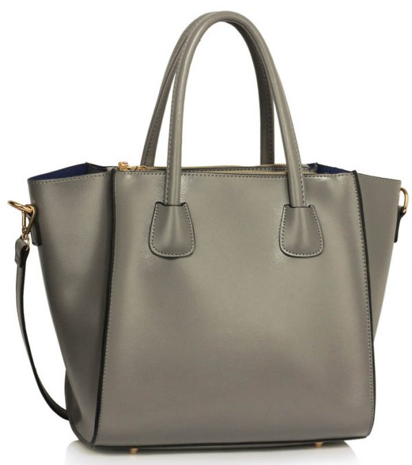 LS0061B - Grey Fashion Tote Bag