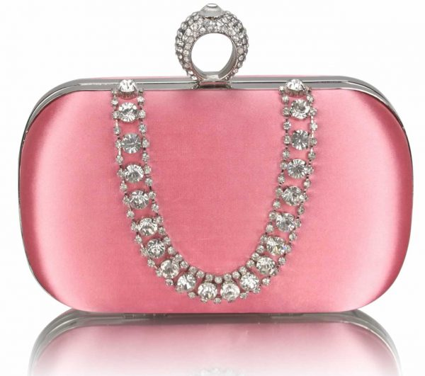 lse00225-pink-sparkly-crystal-satin-clutch-purse