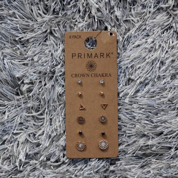 primark-6-pack-crown-chakra-stud-earrings